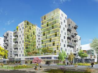 Photo de la résidence ADN - Quartier Les Docks